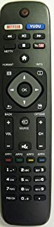 Replacement for Philips Smart TV Remote Control URMT41JHG006