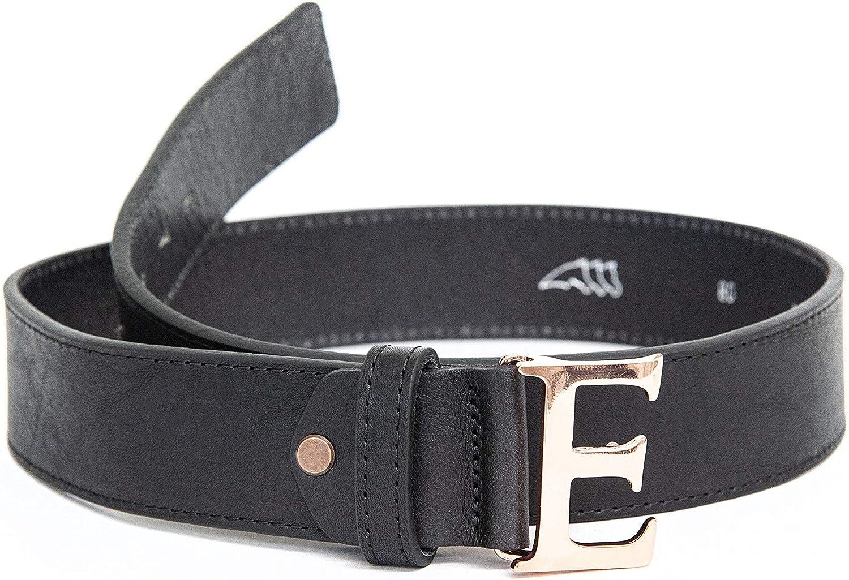 Equiline Ledergürtel EQUIBELT EQUIBELT EQUIBELT schwarz mit großem E als Schnalle B07K1KF98T  Jahresendverkauf 1d898a