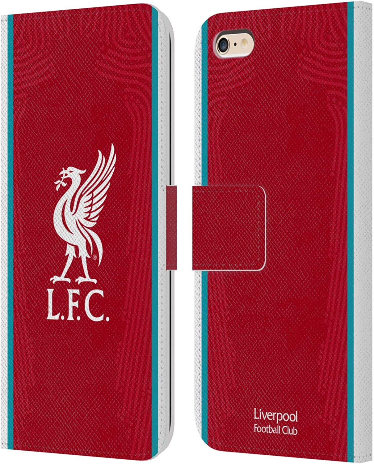 iPhone 5s iPhone SE 2016 Official Liverpool Football Club Home 2020//21 PU Leather Book Wallet Case Cover Compatible For Apple iPhone 5
