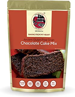 Baking From My Heart Gluten Free Chocolate Cake Mix I Dairy, Egg, Soy & Nut Free I Certified Gluten Free I Tasty and Healt...
