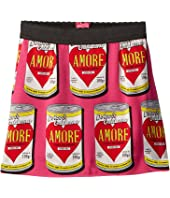 Dolce & Gabbana Kids - Charmeuse Love Skirt (Toddler/Little Kids)