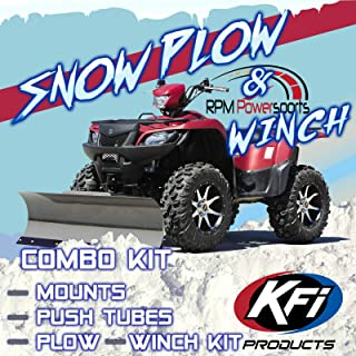 RPM KFI for Yamaha Grizzly 550 700 '07-'20 Plow Complete Kit 54
