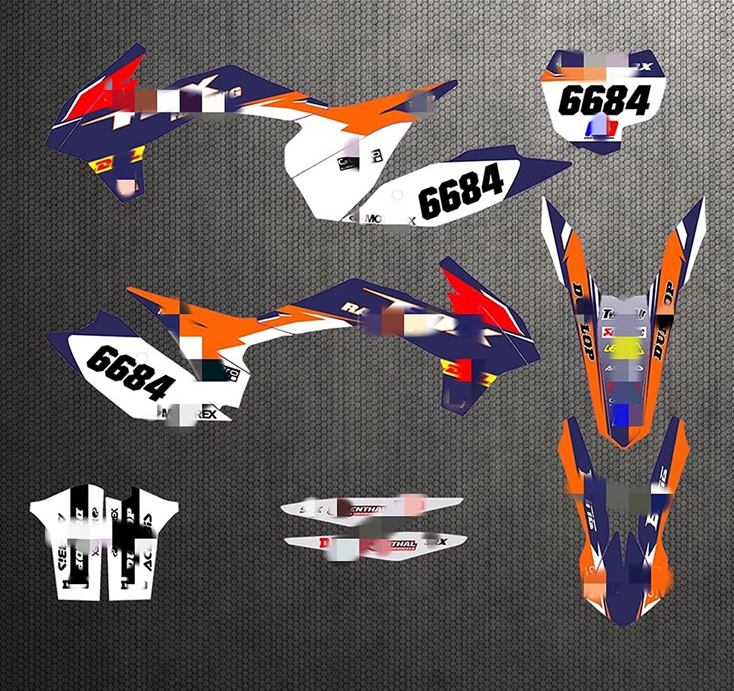 Lhtyouting CH0331E8-29 Customized 3M Motorcycle Decals Easy-to-use Challenge the lowest price of Japan ☆ Stickers