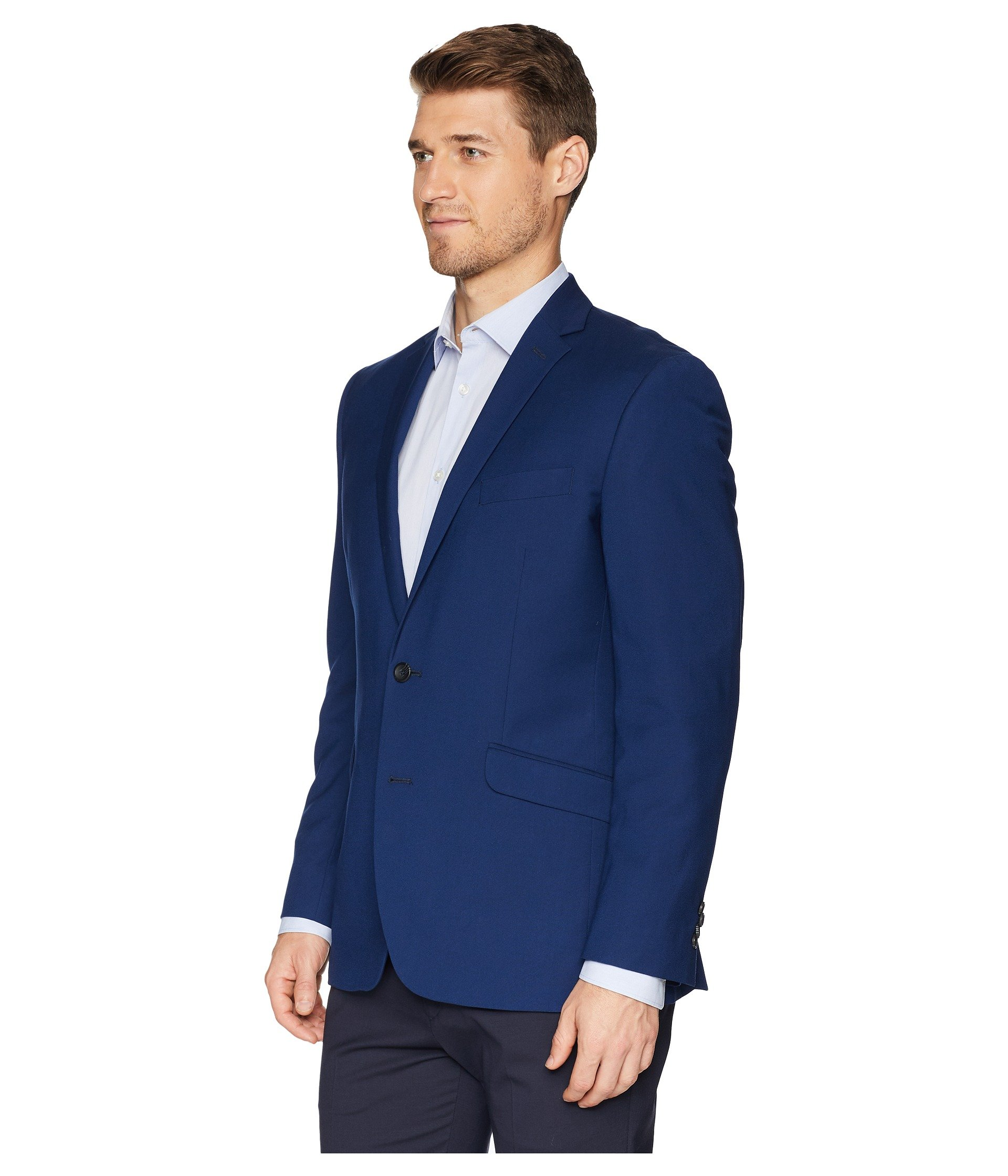 cole Kenneth Reaction Techni Separate Blazer Cole Blue Stretch Suit Modern rtPvnrqw