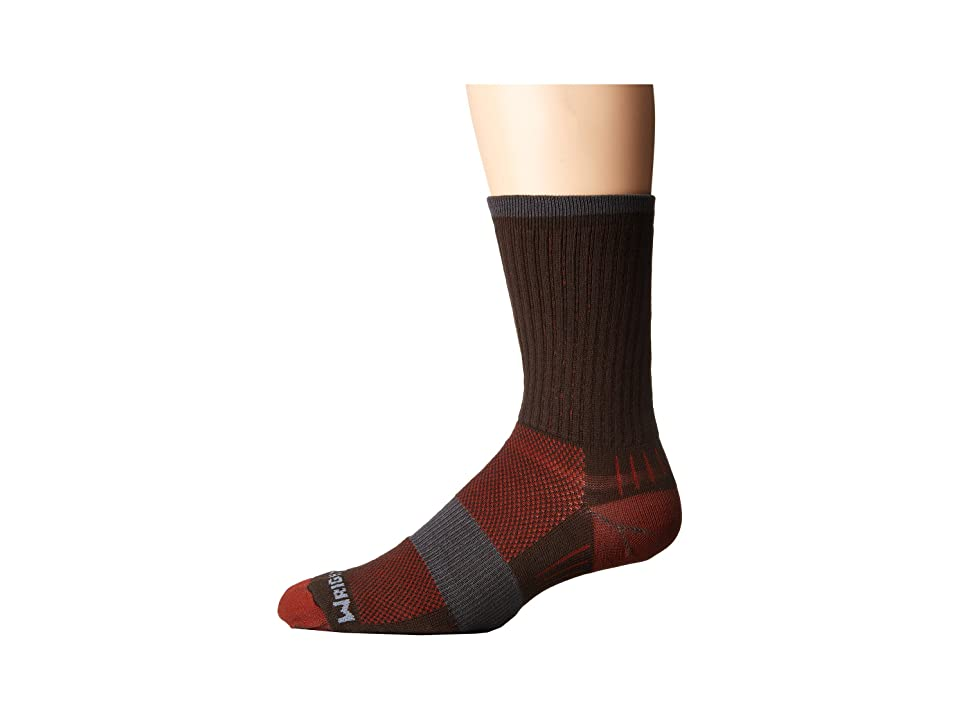 Wrightsock DL Escape Crew (Coffee) No Show Socks Shoes