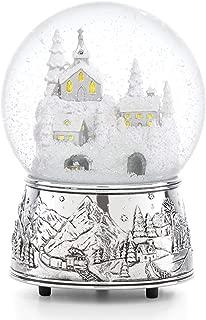 Reed & Barton 887052 Vintage Santa Musical Snowglobe