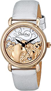 Stuhrling Original Women's 709.04 Vogue Eros Analog Display Swiss Quartz White Watch