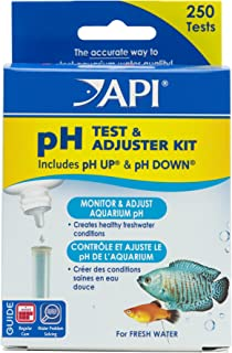 API pH test & Adjuster Kit 250-Test Freshwater Aquarium Water Ph test & Adjuster Kit