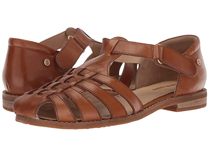 1940s Womens Footwear Hush Puppies Chardon Fisherman Tan Leather Womens Sandals $62.99 AT vintagedancer.com