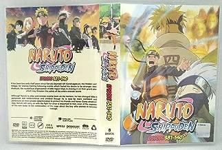 NARUTO (ENGLISH AUDIO) - COMPLETE TV SERIES DVD BOX SET (381-540 EPISODES)