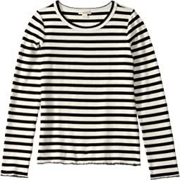 Waterlou Stripe Ivory/Black