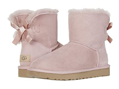 UGG Mini Bailey Bow II (Pink Crystal) Women