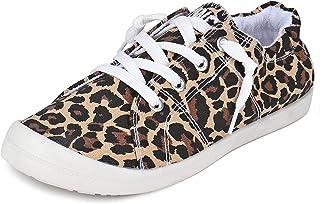 Women's Fashion Low Top Canvas Sneaker Slip On Comfort...