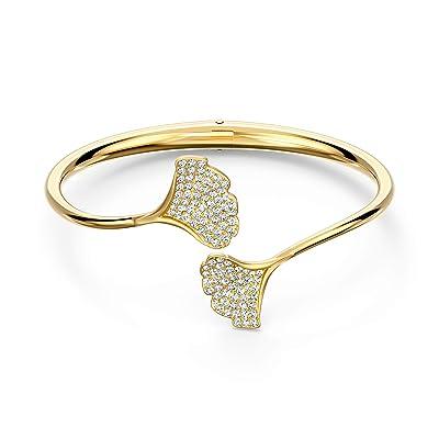 Swarovski Stunning Ginko Bangle Bracelet (White) Bracelet