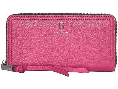 Marc Jacobs Standard Continental Wallet (Begonia) Wallet Handbags