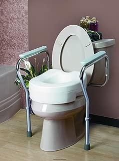 Invacare Adjustable Toilet Safety Frame, Ib Toilet Seat frame Rtl Bx, (1 CASE, 2 EACH)