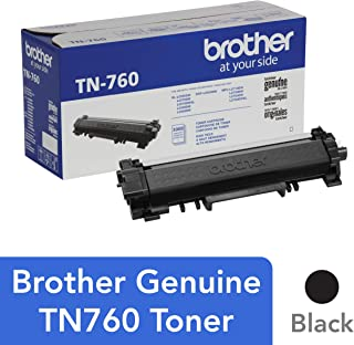 Brother TN-760 DCP-L2550DW HL-L2350DW 2370 2370 2390 2395 MFC-L2710 L2750 2750DW XL Replacement Toner Cartridge (Black) in Retail Packaging