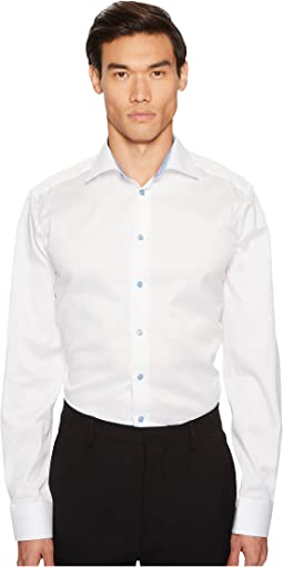 Eton Contemporary Fit Cuff Detail Shirt