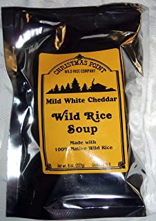 Christmas Point Wild Rice Dry Soup Mix (Mild White Cheddar)