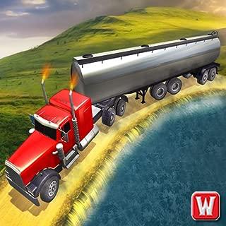 Oil Tanker Truck Transport Crash Car Engine Game