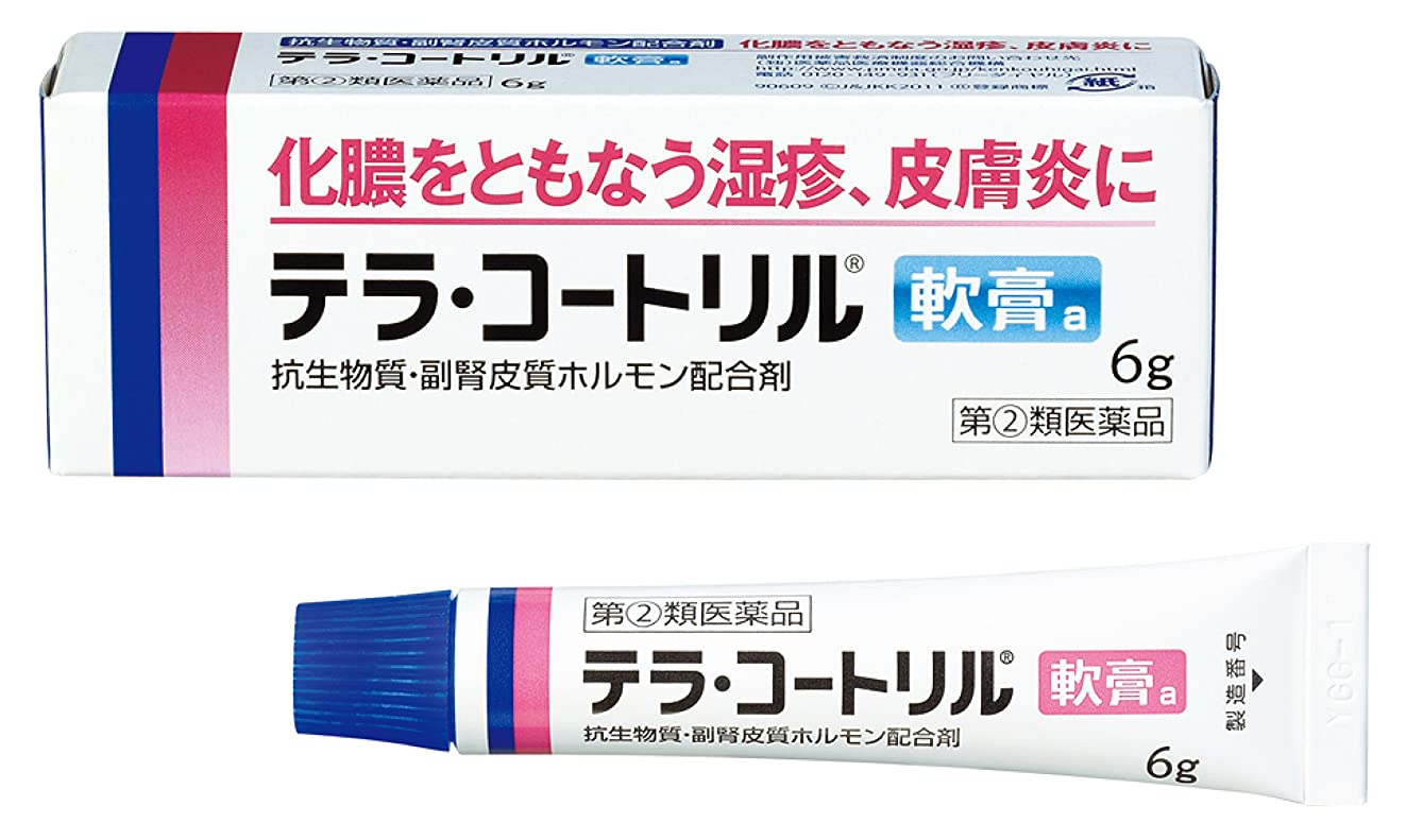 無関心外交力学【指定第2類医薬品】テラ?コートリル軟膏a 6g
