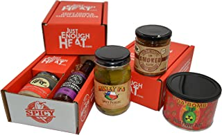 Just Enough Heat Spicy Food & Hot Sauce of the Month Club - Standard (6 Months)