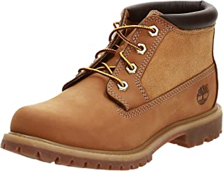 Timberland Nellie Leather and Suede Non-waterproof Women's Boots
