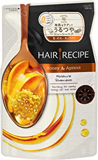 Japan Hair Products - 330ml for hair recipe shampoo Honey apricot Enriched Moisture recipes RefillAF27