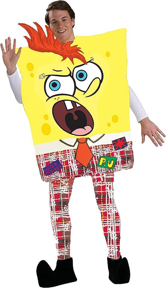 Rubie's Costume Men's Spongebob Adult Punk