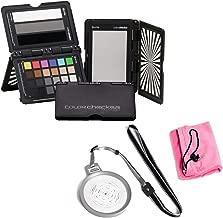 X-Rite ColorChecker Passport Video Bundle with Movo 110mm Color Balance Calibrating Disc