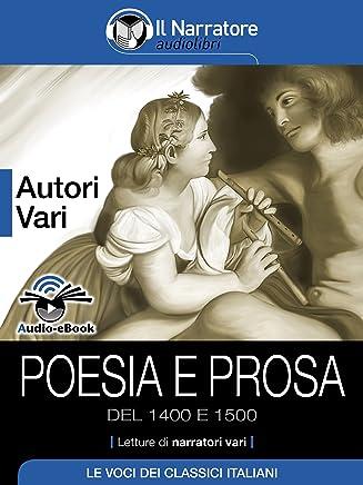 Poesia e Prosa del 1400 e 1500 (Audio-eBook)