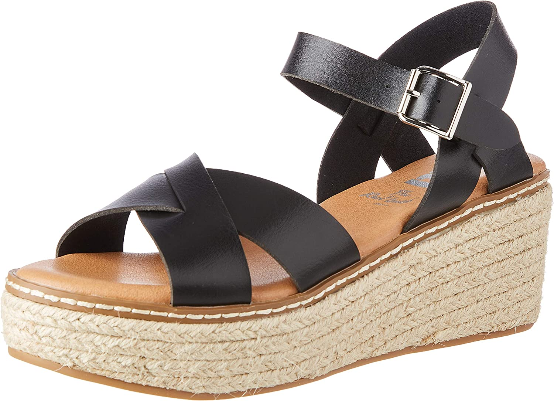 XTI 定番キャンバス Women's Sandal マート Ankle-Strap