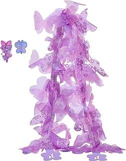 (Purple) - Fancy Nancy Purple Boa + 2 Hair Clips, 120cm Long