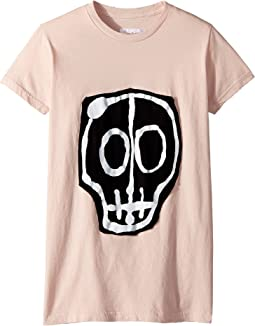 Nununu - Skull Mask Patch T-Shirt (Little Kids/Big Kids)