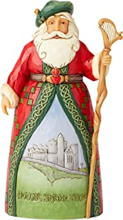Enesco Jim Shore Heartwood Creek Irish Santa