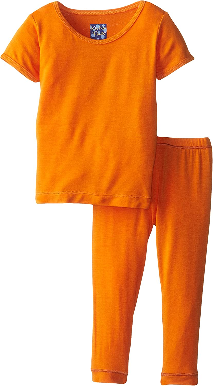 Kickee Pants Pajama Set (Baby) - Sunset-Newborn