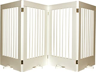 Cardinal Gates 4-Panel Tall Pet Gate, White