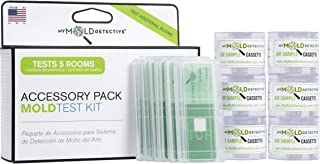 MyMold Detective MMD205, Additional Samples Accessory Pack for Mold Test, Detect Indoor Mold in your Home, 5 Rooms