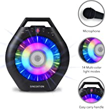 Portable Karaoke Machine for Kids & Adults – Singsation Burst Deluxe –..