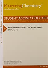 MasteringChemistry with Pearson Etext -- Valuepack Access Card -- for General Chemistry: Atoms First