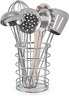 """ملیسا و داگ بیایید خانه بازی کنیم! ظروف آشپزی را با همزن و سرو کنید ، ماشین ظرفشویی ایمن ، استیل ضد زنگ و ساختمانی چوبی ، 7 تکه ، 8.5 """"H x 6"""" W x 3 """"L"""