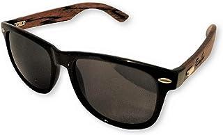 RUSTYGEAR Ebony Wooden Sunglasses Polarized Wayfarer style for Men & Women Bamboo Case