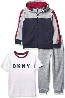 DKNY Boys' 3 pcs. Set, LT Heather