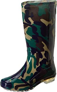 Hillson 101 Safety Gumboot with Lining, Olive Green, UK Size 6