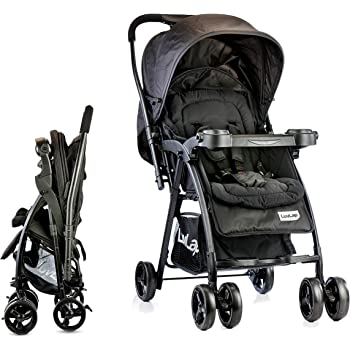 Buy LuvLap Joy Stroller/Pram, Compact and Easy Fold, for ...