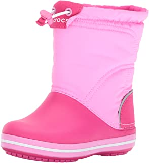 Crocs Crocband LodgePoint Boot Kids, Botas de Nieve Unisex niños, Talla única