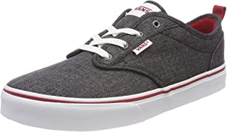 Vans Atwood Slip-On (Checkered Textlle) Little Kids Style...