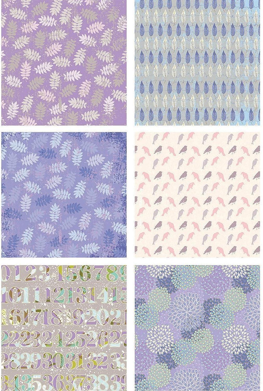 Multicraft Imports Multicraft Papier Pad 6 x 6 – Lavendel Mist, andere, mehrfarbig B01C9UQNHM   Die erste Reihe von umfassenden Spezifikationen für Kunden