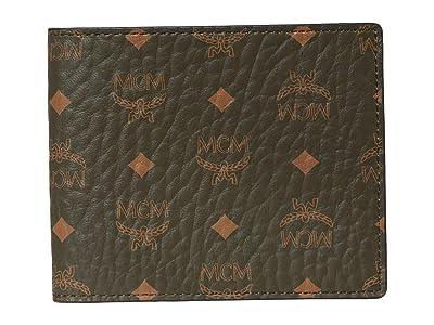 MCM Visetos Original Flap Wallet/Two-Fold Small (Sea Turtle) Bags