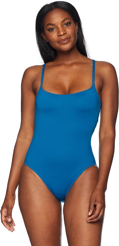 La Blanca Women's Island Goddess Horizontal Strappy Back One Piece Swimsuit